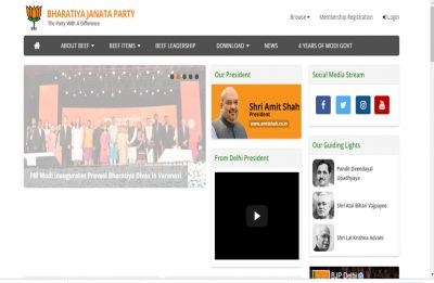 Beef items served on hacked BJP Delhi website as PM Modi takes oath