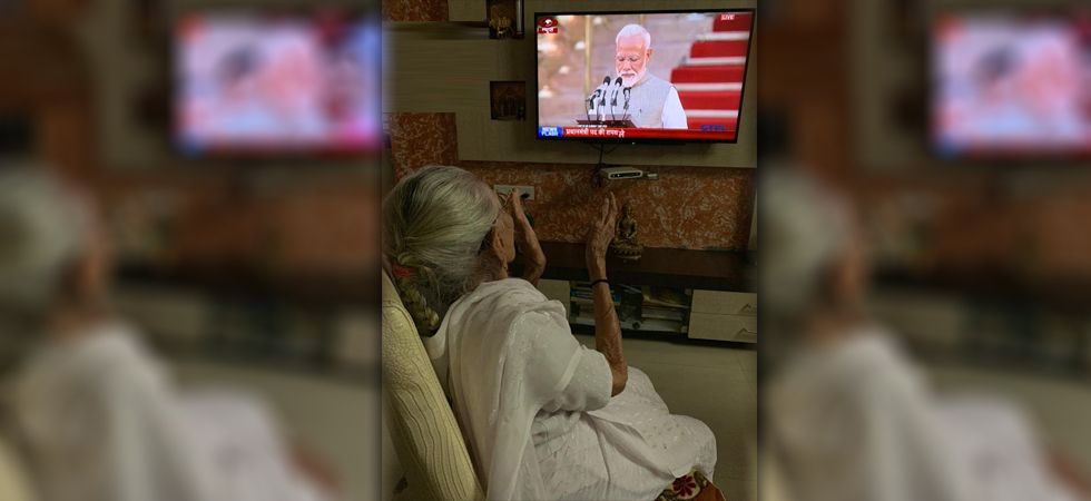 PM Modi's mother Heeraben Modi