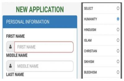 Kolkata college let students choose 'Humanity' as religion in admission form, netizens are crying happy-tears