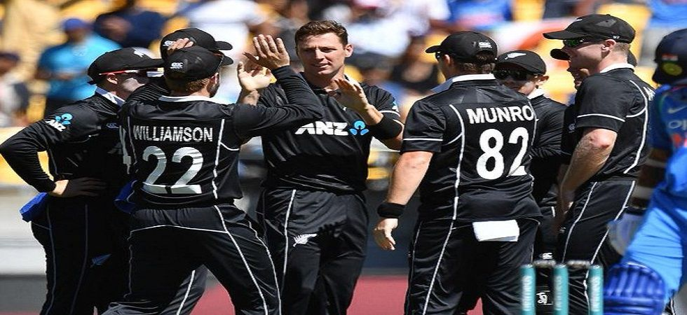 Matt Henry and Lockie Ferguson took three wickets apiece as Sri Lanka were bowled out for 136 against New Zealand in ICC Cricket World Cup 2019. Get live cricket score and updates of the match here. (Image credit: Twitter)