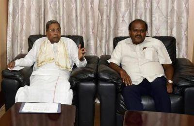 Amid coalition worries, Kumaraswamy holds talks with Siddaramaiah