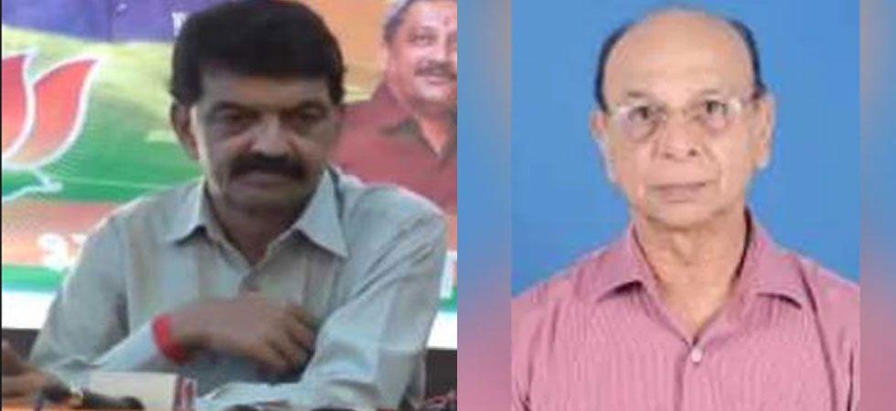 BJP MLA Rajesh Patnekar (Left) and Congress' Pratapsingh Rane (Right)