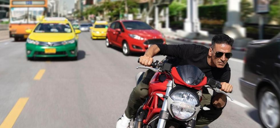 Akshay Kumar goes back to his Bangkok food delivery days for Sooryavanshi