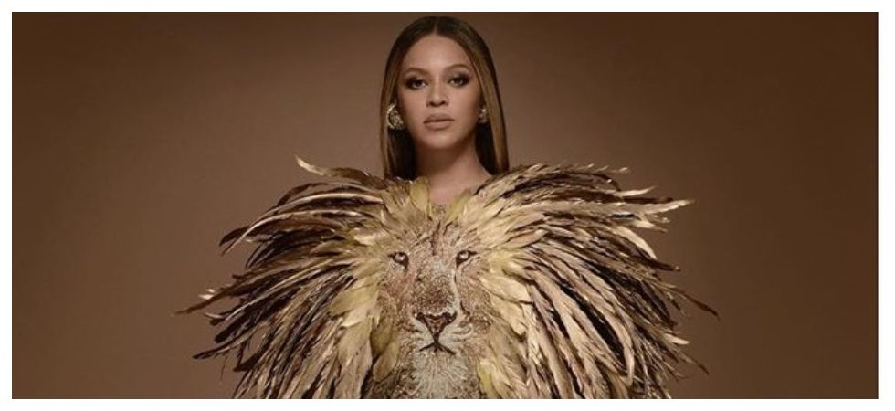 Beyoncé sports a Nala inspired outfit (Photo: Instagram)