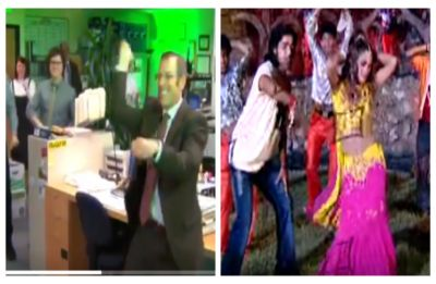 WATCH| 'The Office' cast dancing to Bhojpuri song 'Tu lagawelu jab lipistic' will make you ROFLing