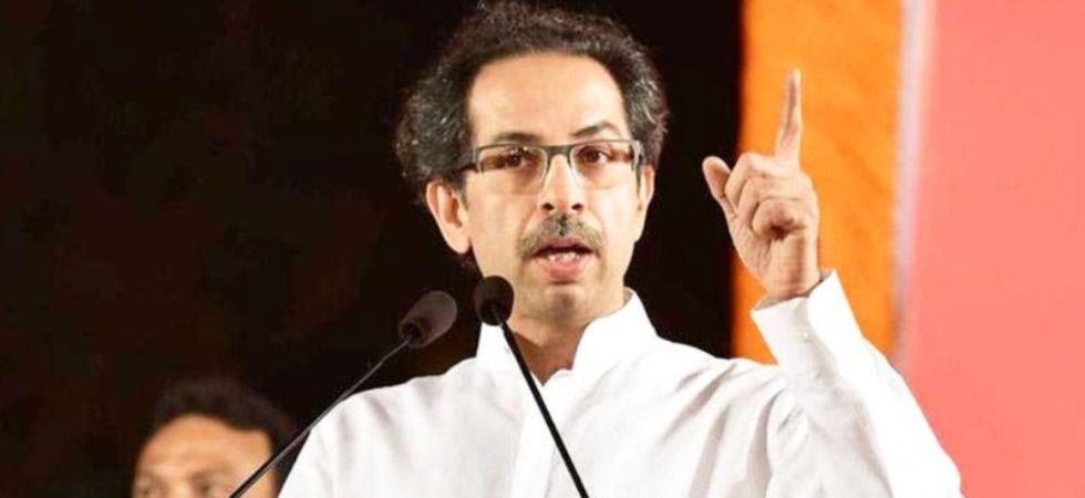 Shiv Sena chief Uddhav Thackeray (Photo Credit: Twitter)