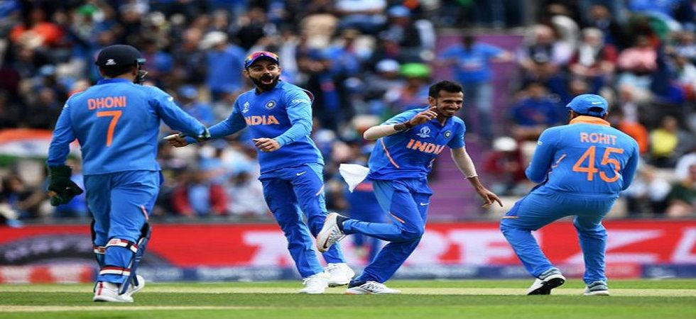 Yuzvendra Chahal showed his class with a brilliant haul of 4/50 against South Africa in the ICC Cricket World Cup 2019. (Image credit: Cricket World Cup Twitter)