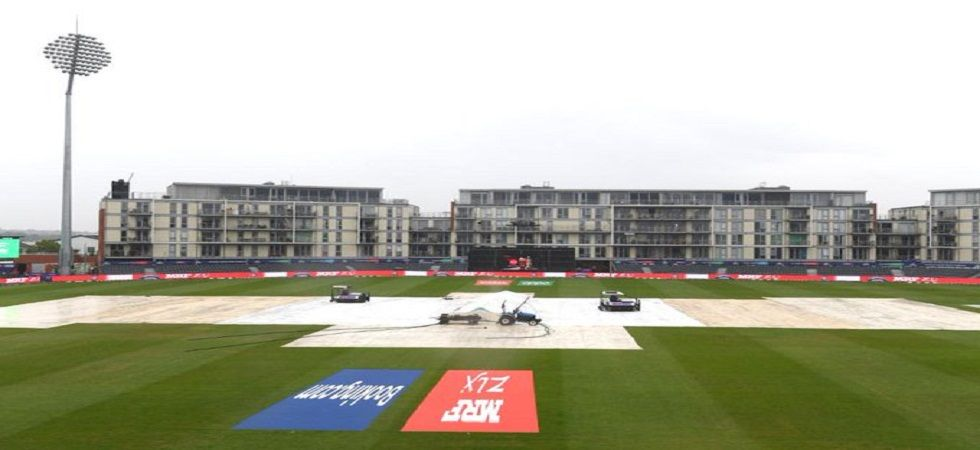 The Pakistan vs Sri Lanka match in Bristol was abandoned due to rain. Catch highlights, PAK vs SL, ICC Cricket World Cup 2019 at newsnation.in. (Photo: Twitter/@OfficialSLC)