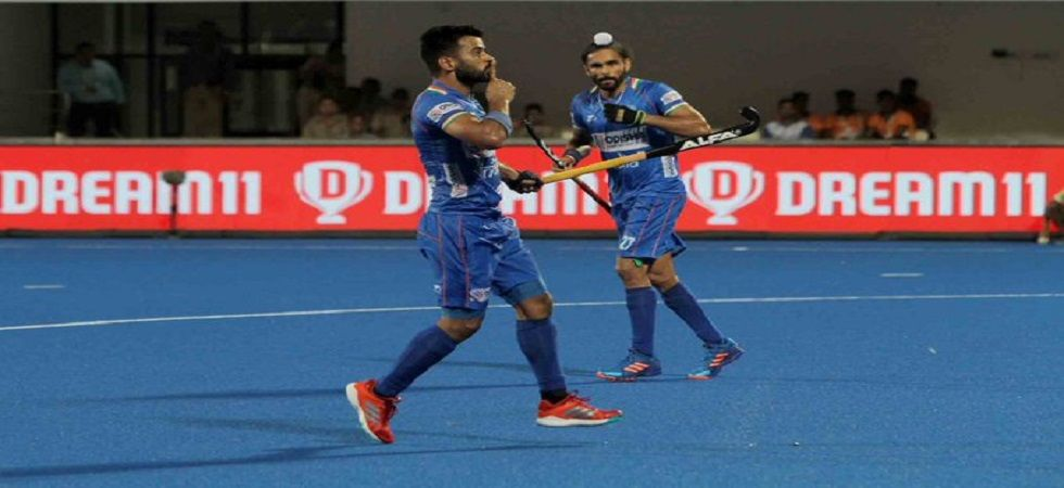 Manpreet Singh scored twice as India defeated Poland 3-1 in the FIH Series Finals hockey tournament in Bhubaneswar. (Image credit: Twitter)