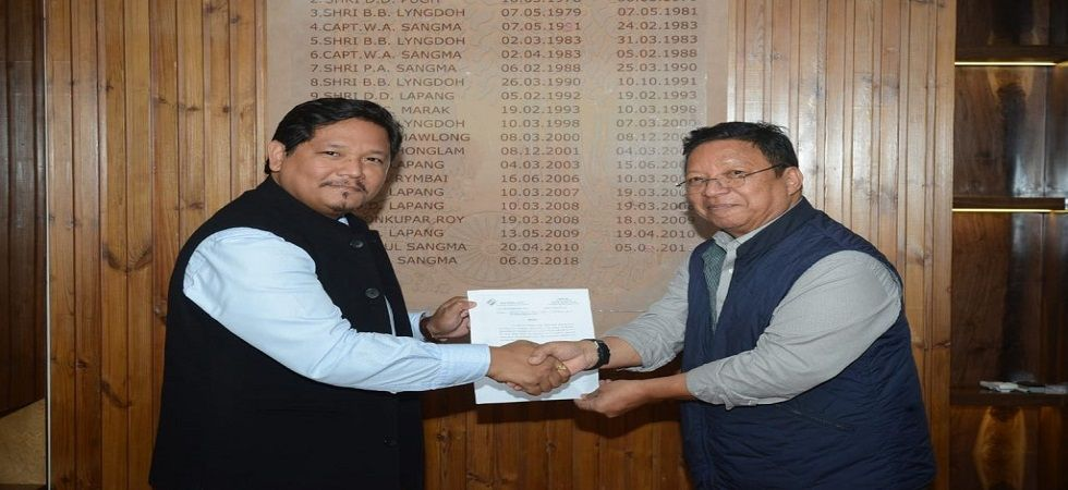 The party, which till until recently only recognised as a state party in Manipur, Nagaland and Meghalaya, has also been given the status of a state party in Arunachal Pradesh, where it has won five seats in recently-held election. (Photo: Conrad Sangma/Tw