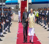 Terror cannot beat Sri Lanka's spirit, says PM Modi; meets President Maithripala Sirisena
