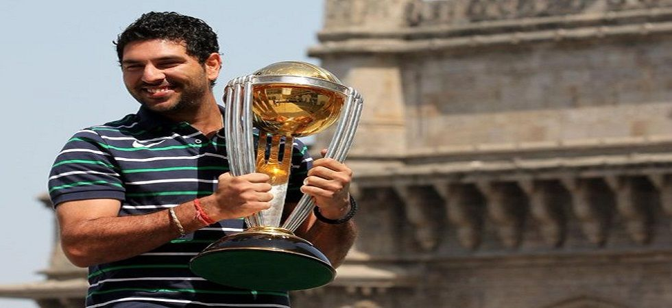 Yuvraj Singh played a massive part in India's 2007 World T20 triumph and the 2011 World Cup victory for India. (Image credit: ICC Twitter)