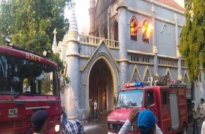 Massive fire breaks out at Jabalpur High Court in Madhya Pradesh, blaze fighting operation underway