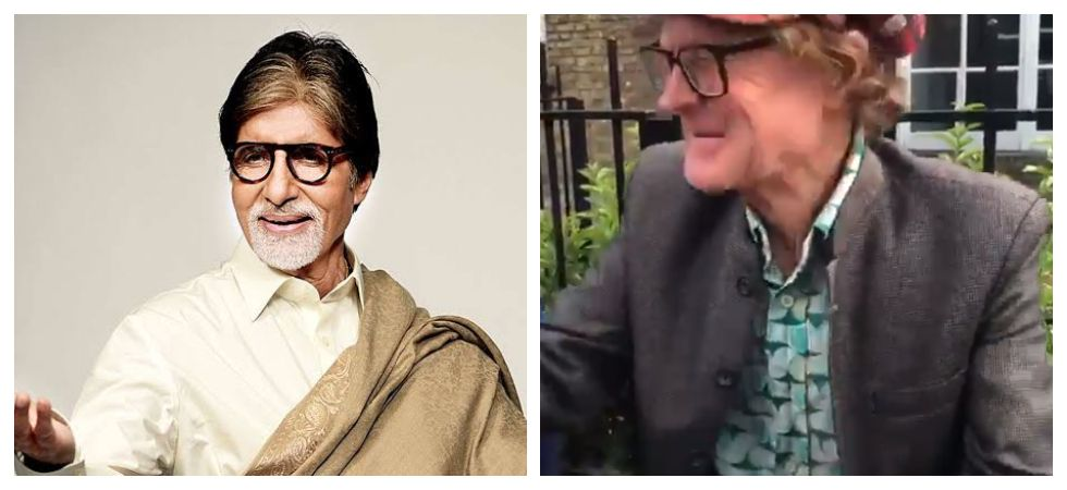 Amitabh Bachchan reacts to a video of a foreigner selling bhel (Photo: Twitter)