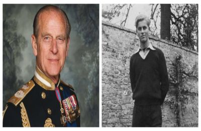 Royal family releases 'rare' pictures of YOUNG Prince Philip on his 98th birthday, VIEW here