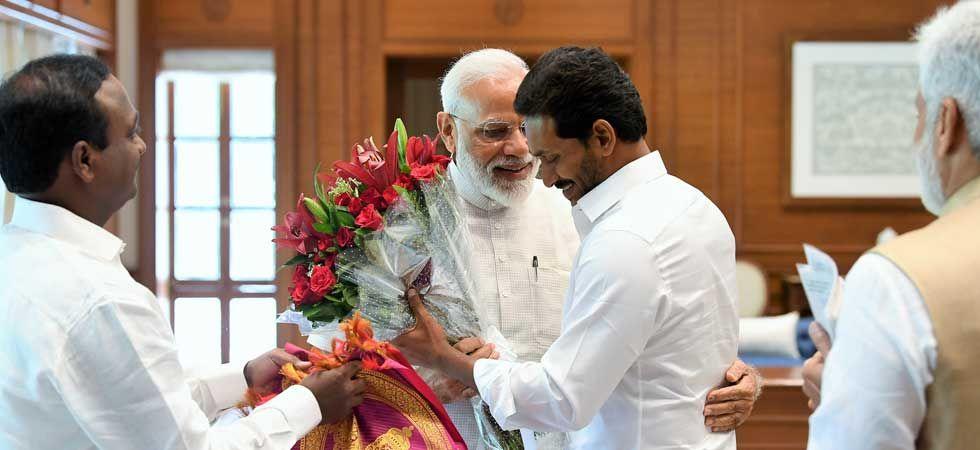 Jagan had recently met Prime Minister Narendra Modi in Delhi. (Photo: Twitter/@narendramodi)