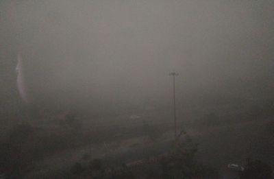 Massive dust storm hits Delhi-NCR, visibility drops in region