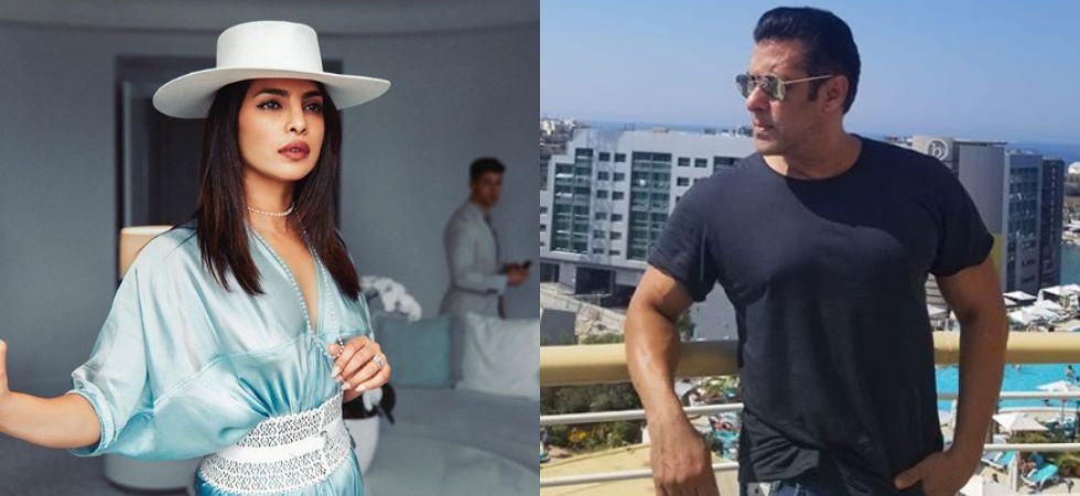 Priyanka Chopra and Salman Khan./ Image: Instagram