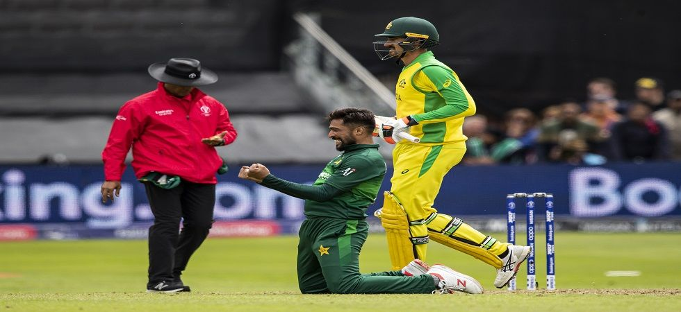 Mohammad Amir picked up 5/30 but Pakistan still lost by 41 runs against Australia in the ICC Cricket World Cup 2019 clash in Taunton. (Image credit: Getty Images)