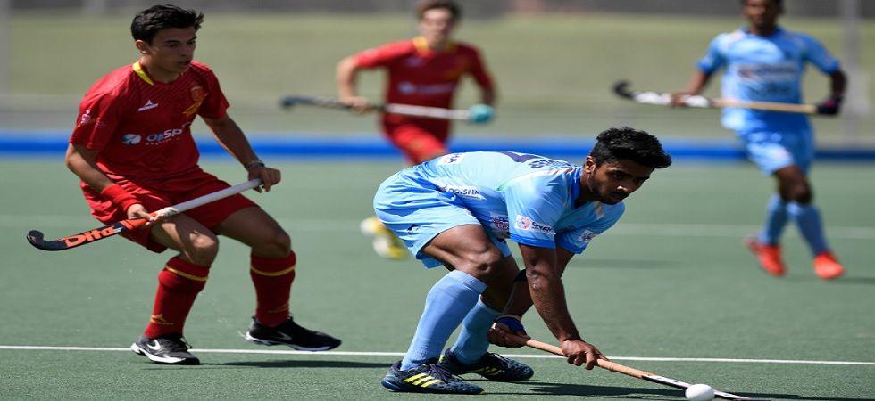 Indian junior men's hockey team lose 1-3 to Spain Madrid (Twitter)
