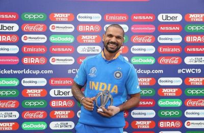 Shikhar Dhawan hits the gym, aims to be ready for ICC Cricket World Cup 2019 clash