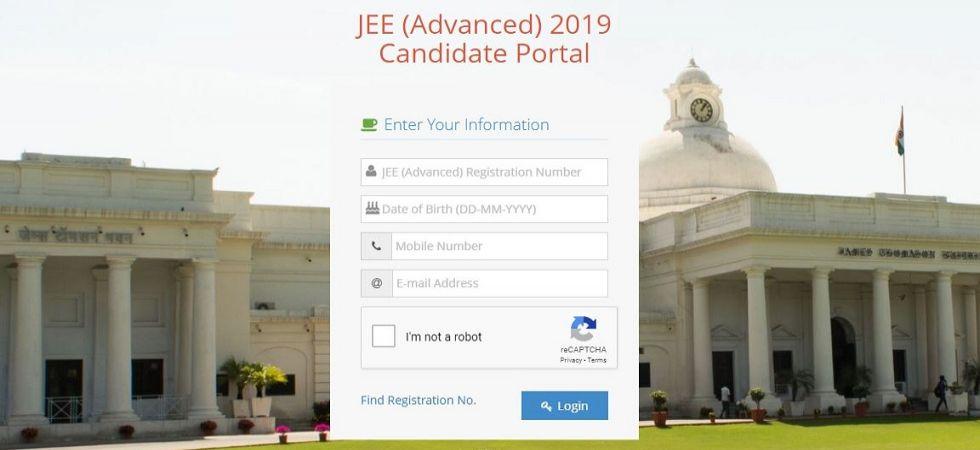 JEE Advanced Result 2019 (Screen grab)