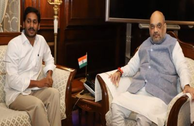 CM Jaganmohan meets Home Minister Amit Shah, raises special status for Andhra
