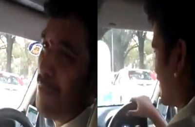 Watch: This video of Bengaluru cab driver speaking Sanskrit fluently has taken the internet by storm