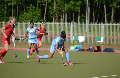 Indian junior women's hockey team mauls Belarus Development team 6-0