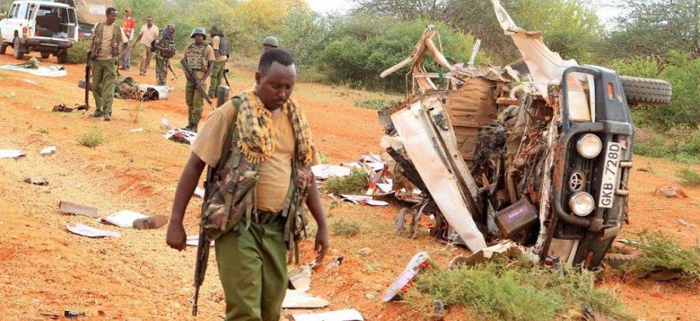 Landmine blast near Somali border (Photo Credit: Twitter)
