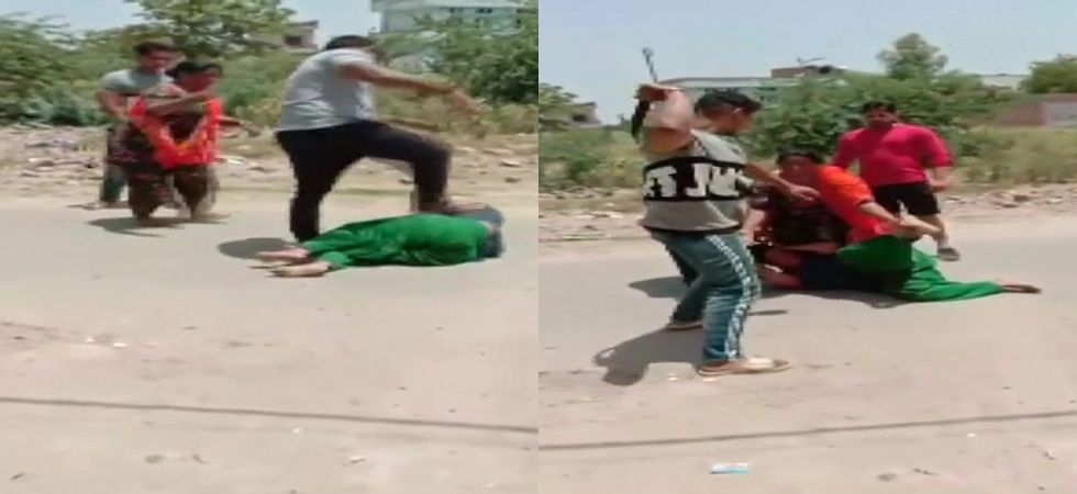 Police said the woman was assaulted as she could not repay Rs 23,000, which she owed to one Suresh Chaudhary. (ANI.Twitter)