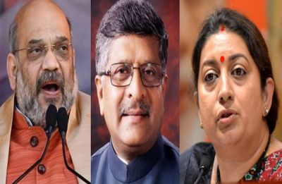 Bye-Elections to be held on Rajya Sabha seats of Amit Shah, Smriti Irani and RS Prasad on July 5
