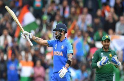 Virat Kohli suffers ultimate DRS brainfade in India vs Pakistan World Cup clash