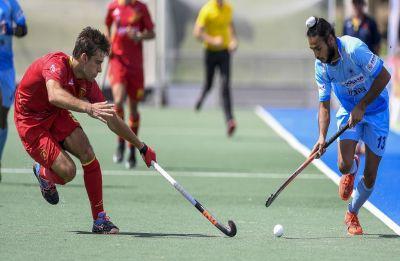 Indian men's junior hockey team loses 1-2 to Great Britain