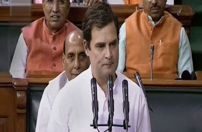 Rahul Gandhi's gaffe while taking oath of office as member of the 17th Lok Sabha