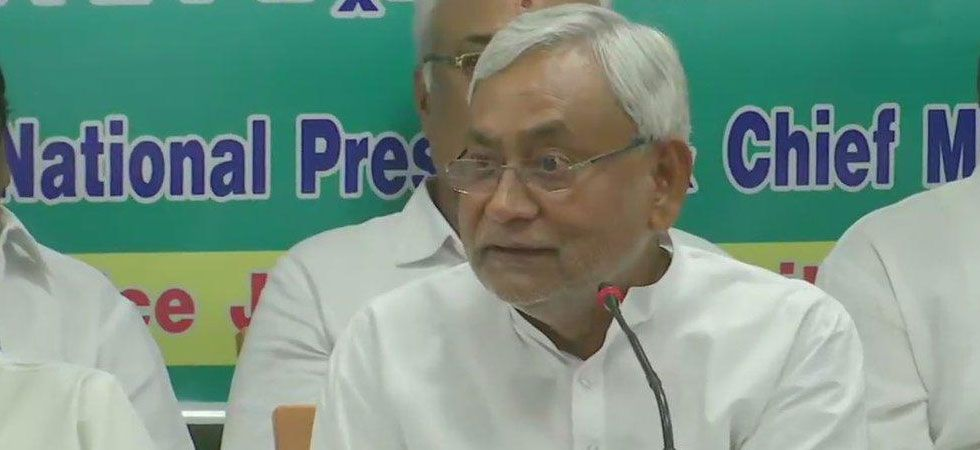 CM Nitish Kumar also said that environmental study should be conducted of affected areas and analysis should be done. (Image Credit: ANI)