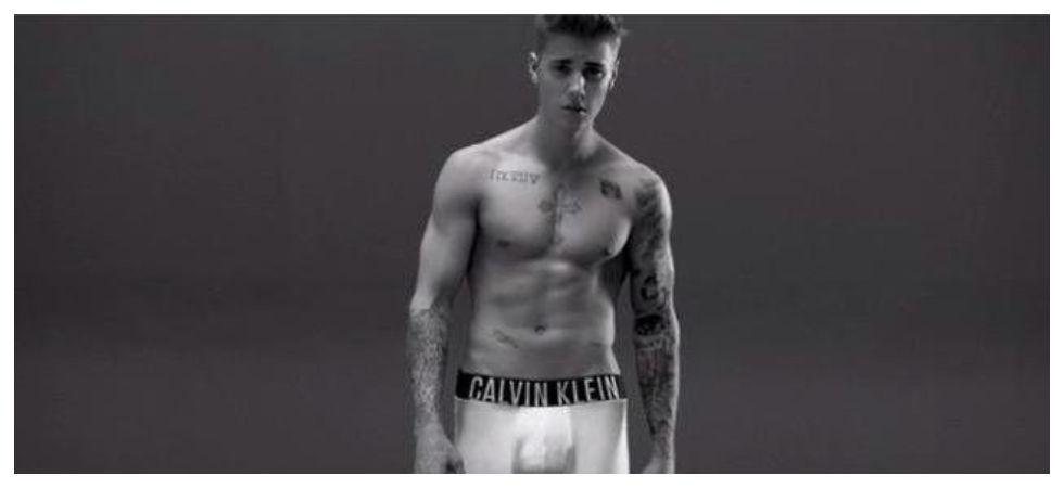 Justin Bieber's underwear was once stolen (Photo: Twitter)