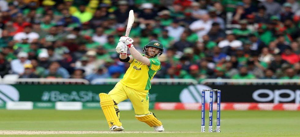 David Warner hits 166 off 147 balls against Bangladesh (Image Credit: Getty)