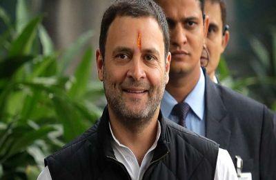 WATCH: Rahul Gandhi scrolls through phone, clicks photos while President addresses Parliament