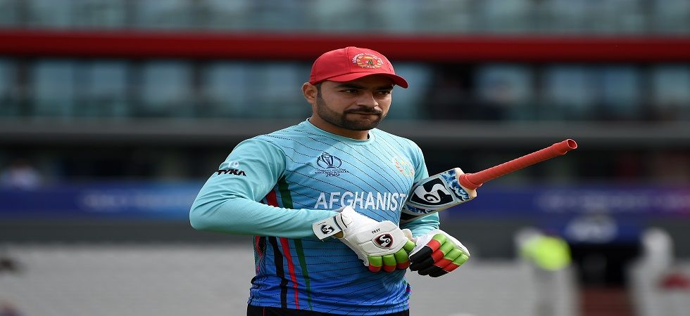 Rashid Khan was smashed for 110 runs in Afghanistan's previous game against England. (Image credit: Getty Images)