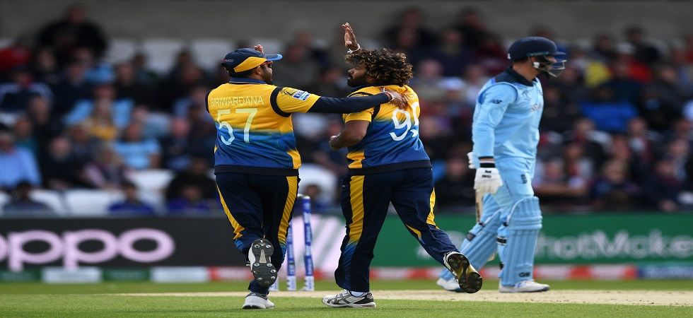 Angelo Mathews slammed his 38th fifty as Sri Lanka ended on 232/9 against England in the ICC Cricket World Cup 2019 clash at Leeds. (Image credit: Getty Images)