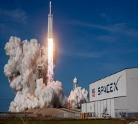 SpaceX Falcon Heavy's first night launch carrying 152 dead people's remains today