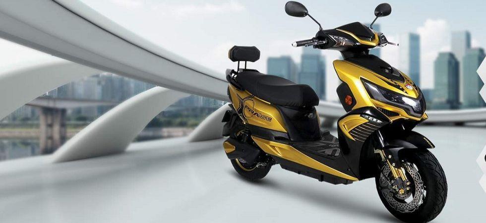 Electric two-wheeler (Representational Image)