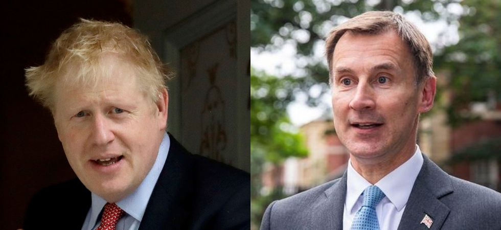 Next British PM to be announced July 23 : Boris Johnson on Left and Jeremy Hunt on Right (Photo Credit: Twitter)