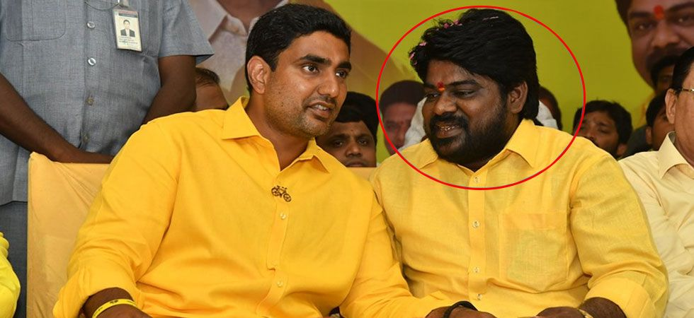 Uma Yadav (in red circle) was said to be a close associate of Nara Lokesh. (Photo: Facebook)