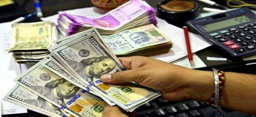 The rupee opened weak at 69.40 at the interbank forex market and then fell further to 69.48, down 12 paise over its last close
