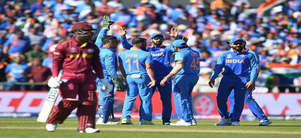 India registered a brilliant 125-run win against West Indies in the ICC Cricket World Cup 2019 as the Windies were knocked out of the tournament. (Image credit: Getty Images)