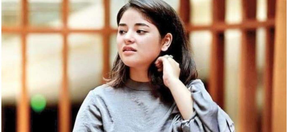 Zaira Wasim quits acting.