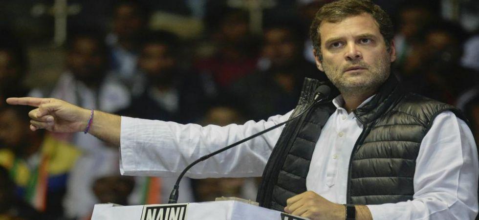 Congress president Rahul Gandhi. (PTI/File)