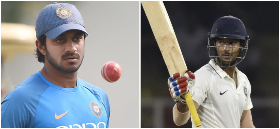 Vijay Shankar ruled out of ICC World Cup 2019 due to toe injury (Image Credit: Twitter)